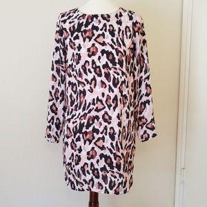 Bar iii Leopard Dress